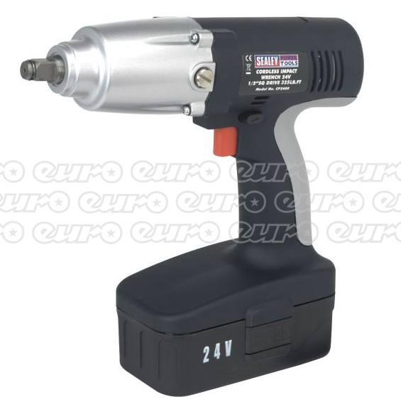 Introducing the Sealey CP2400 Cordless Impact Wrench 24V