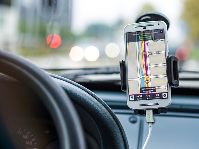 A sat nav will guide you to your destination