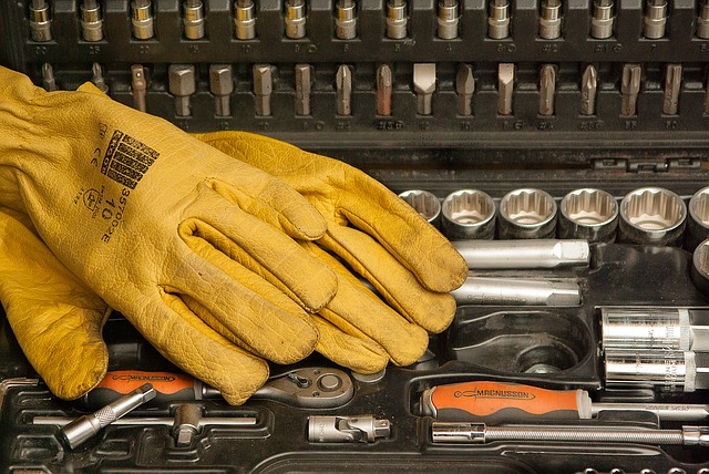 A range of car tools to help with maintenance and repairs