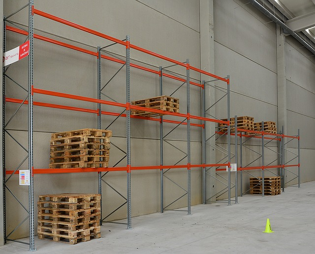Warehouse racking is great for storage