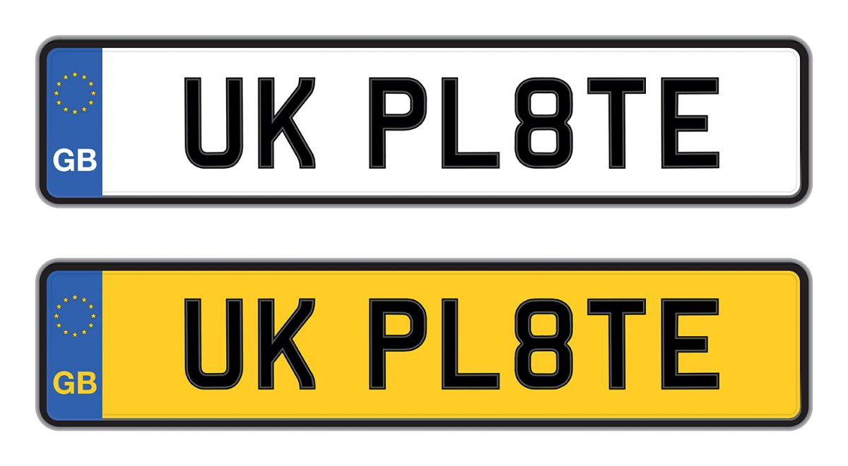 UK Number Plates: Legal Do\'s & Don\'ts - Euro Car Parts Blog