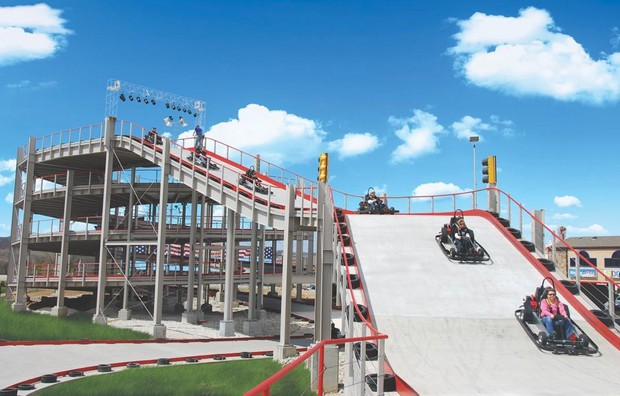 'Mario Kart'-inspired racetrack to open in Niagara Falls