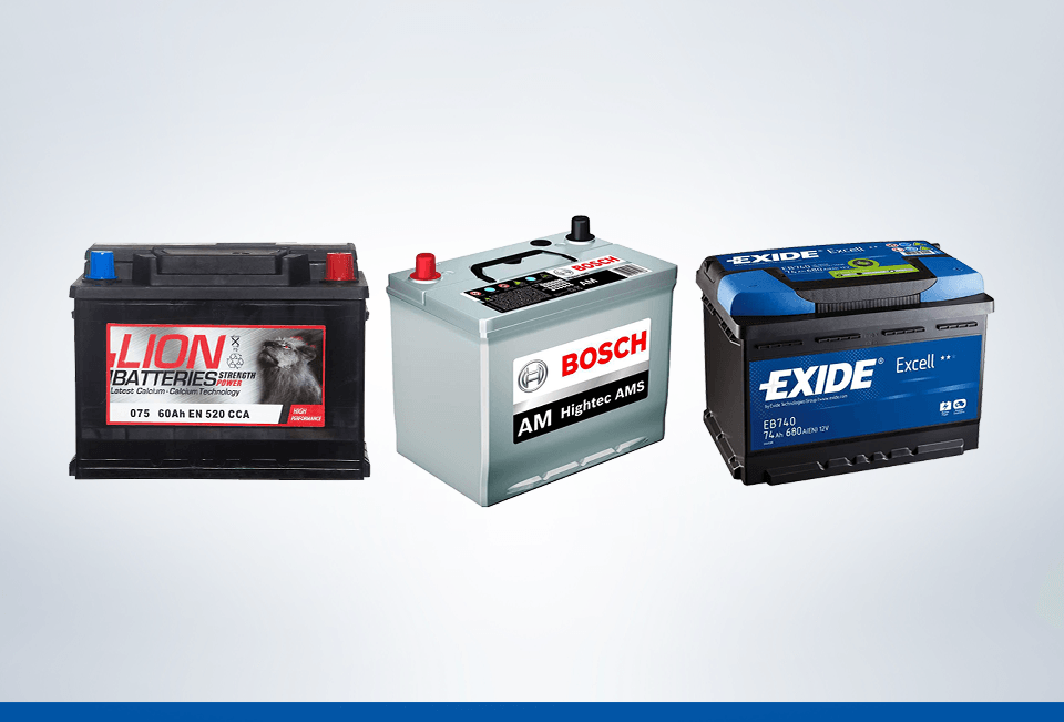 Top Brands Car Batteries UK